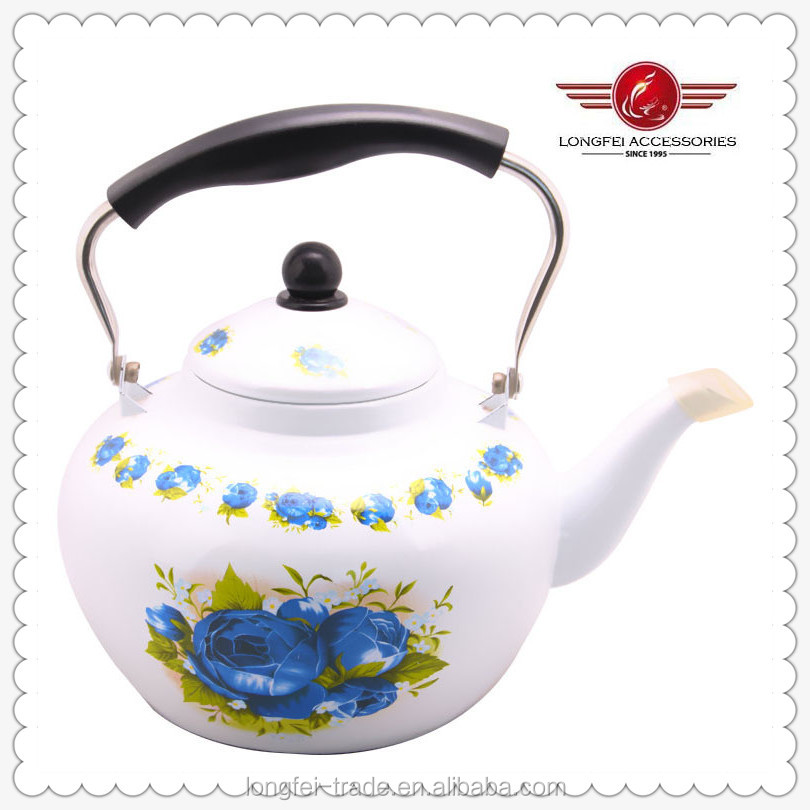 3.2l Apple Shape Bakelite Handle Enamel Tea Kettle - Buy Tea ...