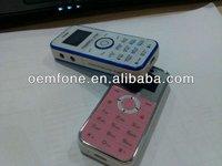 2012 new arrival mini mobile phone KM119 with 0.95'' O-LED screen