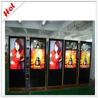 with samsung original panel wifi 3G lcd advertising media player 55inch board for mall advertising