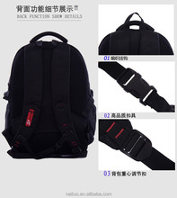 2015 1280d nylon kids school bags with computer pocket