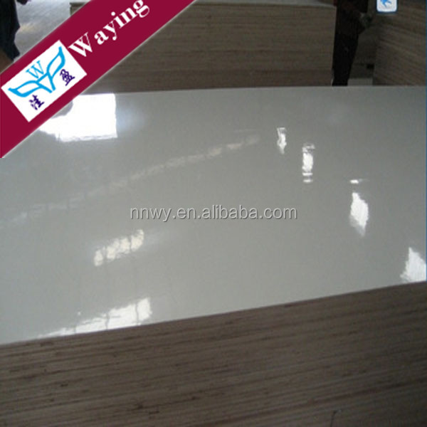 STANDARD 4'X8' SIZE 18MM MELAMINE FACED WATERPROOF PLYWOOD