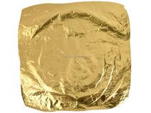 Decoración del arte 100% hojas de fabricación dorado hoja dorado genuino