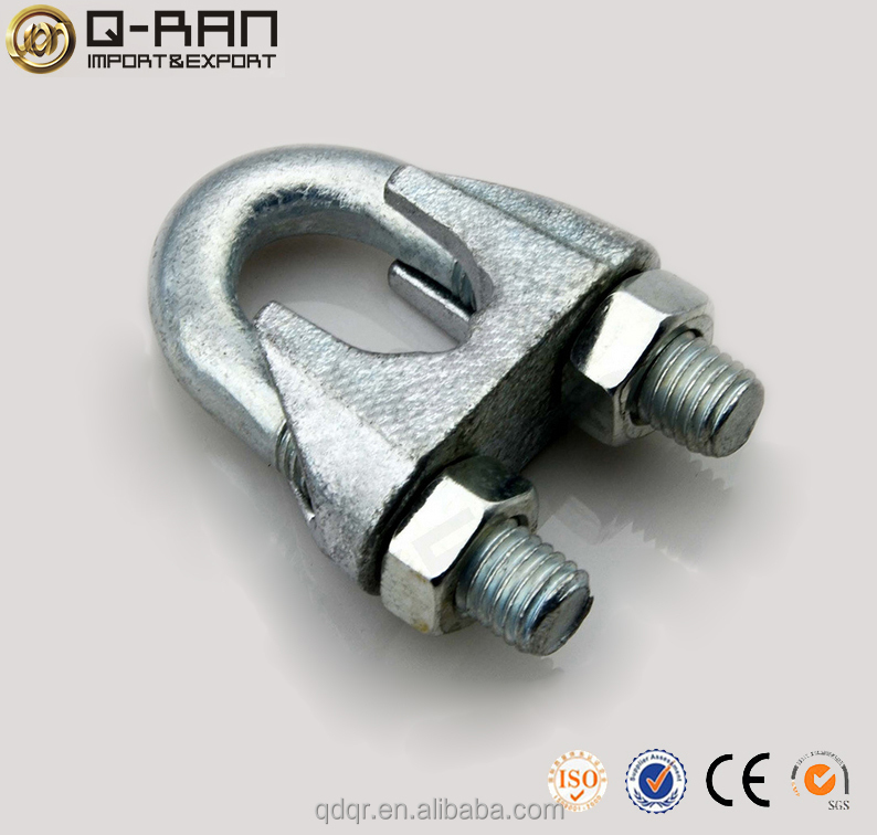 Adjustable U Bolt Clamp Din 741 Wire Rope Clips Wire Rope Clamp 3mm ...