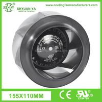 Low Consumption Mini Exhaust AC Motor External Cooling Fan