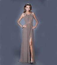 2015 New Elegant Design Ladies Chiffon Evening Dress fashion woman long chiffon dress