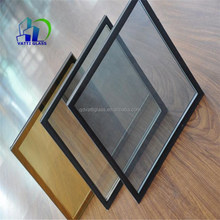 aluminum hollow low-e glass door and window for office insulated glass panels aluminum spacer bar for insulating glass