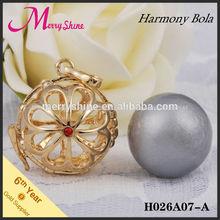 H24a07-a 2015 presente de natal para bebê feliz natal bola colorida harmonia pingentes colar de bola