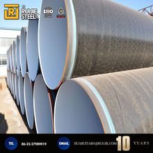 High quality polyethylene wrapped steel pipe with epoxy powder coated for anti-corrosion used in America regions