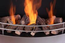 Cerámica de registro para chimenea etanol chimenea decoración