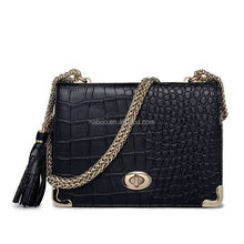 High quality genuine crocodile leather skin handbag/crocodile pu handbag/genuine crocodile leather handbags