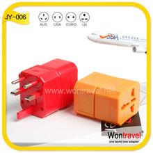 JY-006 CE cheap electrical socket/universal socket set/travel plug socket as mobile accessory