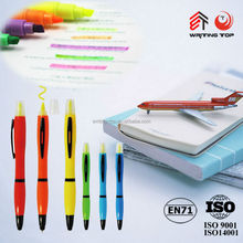 2015 OEM double ended highlighter and pen