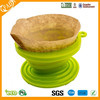 Silicone Pour Over Coffee Dripper (Includes Filter Papers)