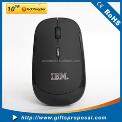 High Quality Cheap Optical Wireless Computer Mouse, USB Mouse Wireless, Flat PC Mouse