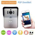 Uso ao ar livre segurança p2p ir gravação de controle porta bell camera