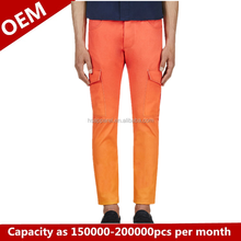 Leisure men's trousers, fashionable bound feet pants