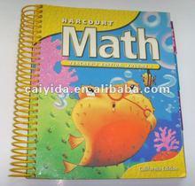 school math book printer glossy magazine printing
