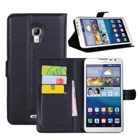 Flip PU Leather Wallet Cover Case For Huawei Ascend Mate 2