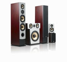 Hot seller of 5.1 blu ray home theatre speakers with 3-way Crossover