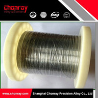 Nickel and nichrome Ni70Cr30 heating wire
