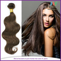 Silky Texture and High Quality Body Wave Brazilian Virgin Human Hair