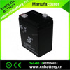 Rechargeable Lead Acid storage battery 6v4ah for children's toy car