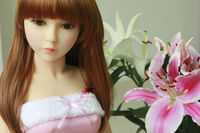 108cm young small sex silicone doll,real little girl,cute baby love young doll 100% silicone with skeleton oral sex possible