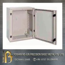 Custom powder coating electrical junction box installation