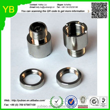 Custom stainless steel 510 special adapter parts lathe machined adapter parts