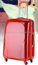 new arrival design red party prince luggage for wedding