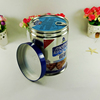 Food safe easy open round metal tin cans for food