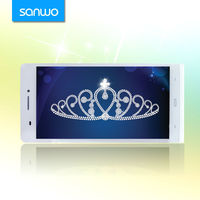 Big screen 3g quad core best 6 inch android wholesale smartphone