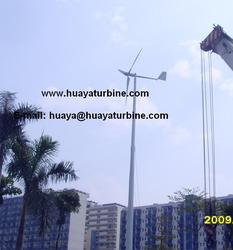 5kw wind turbine generator price with 6m blades rotor for low wind speed place