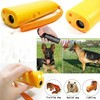 yellow Pet Product Ultrasonic Dog Training Repeller Aggressive Control Trainer Device Anti Bark Stop Barking