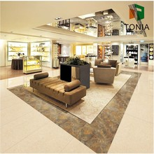 Tonia New House Design Super Thin Marble OutDoor Floor Tiles Tiles In Philippines Vitrified Tiles With Price 4.8mm Thickness