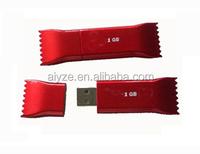 candy shape usb flash drives as present print Exclusive logo usb stick memory