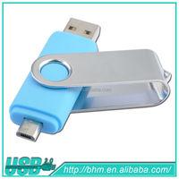 Rotation type wholesale mobile phone free promotional usb flash drives