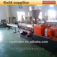 PET bottle recycling and granulating line/extruder machinery