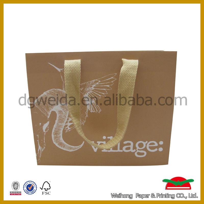 made in china recycle kraft paper bag,brown paper bag