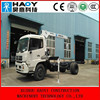 4 ton hydraulic telescopic booms truck mounted crane for sale