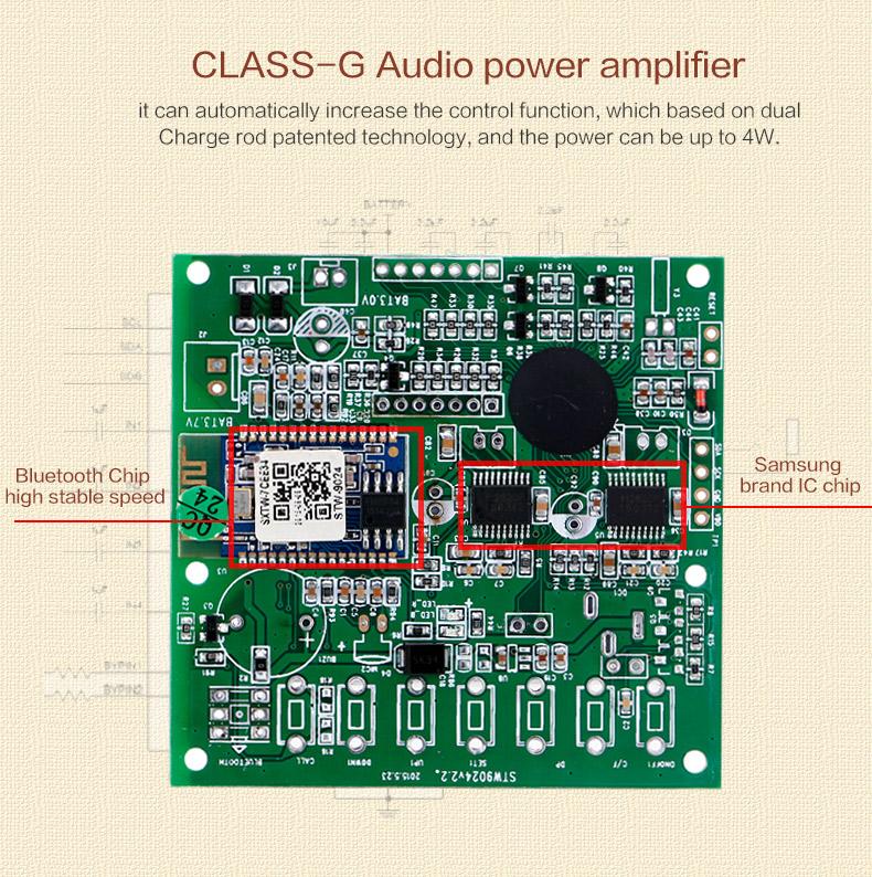 2017 vente chaude portable mini Bluetooth haut-parleur