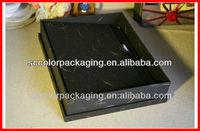 Man bag packing box, single shoulder bag packing box, black man box