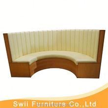 corner dining boothh waterproof restaruant furniture