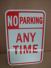 reflective plastic security yard signs/ PVC Material advertising yard sign
