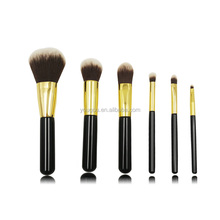 6Pcs Cosmetic Professional Makeup Brushes Set Kabuki Eyelash Travel Brush Set
