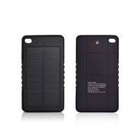 Private mode hot sell usa 5000mah solar mobile charger cover