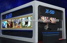 Video game 5D cinema amusement park for sale