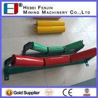 Electrostatic Spraying Painted Belting Conveyor Steel Transfer Roller For Sale