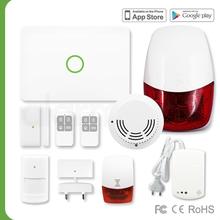 (B2B)Lightening Siren home/office defense alarm system with anti-theft gsm kit alarm wireless S1/868MHz/GSM/MiB