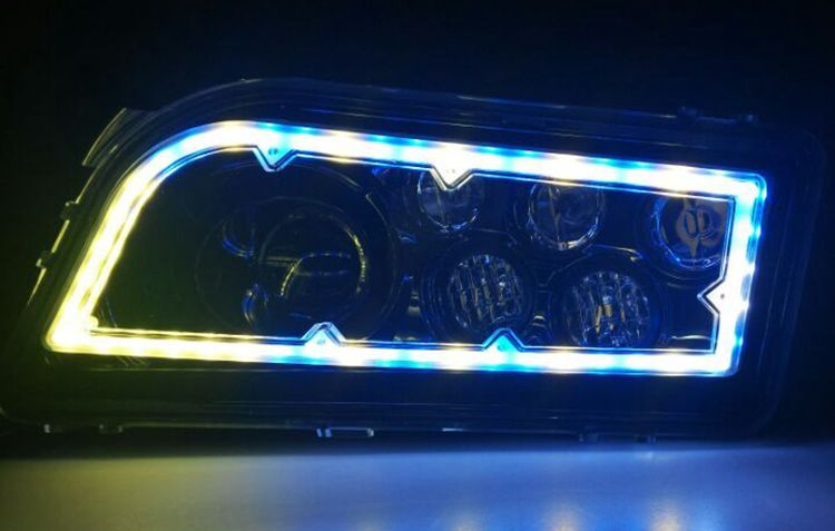 RGB ATV headlight 43